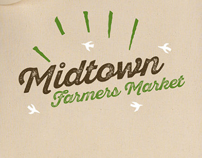 Midtown Farmers Market Collateral