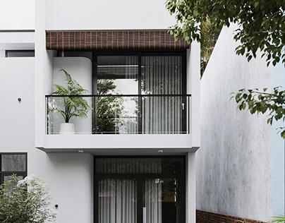T house 2  CGI Design: Duy Huynh 893.studio