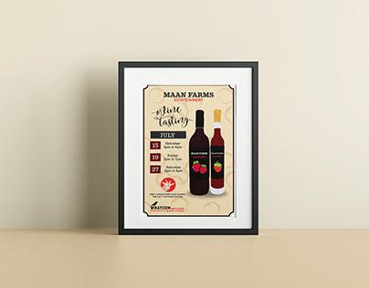 Maan Farms Wine Tasting at Whatcom Wine and Spirits