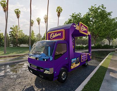 Cadbury Truck
