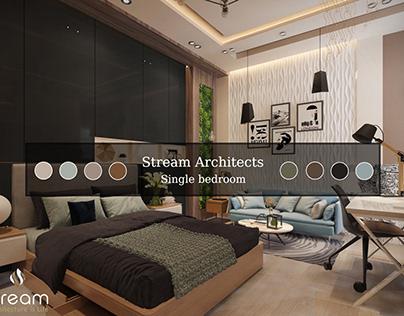 Single bedroom design