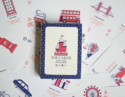 The Cards Playing Cards - Royal Series
