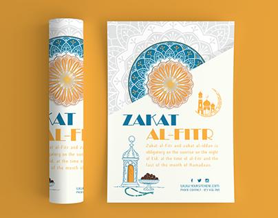 zakat al-fitr flyers