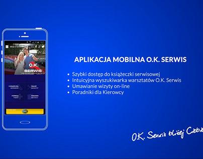 O.K. SERWIS mobile app