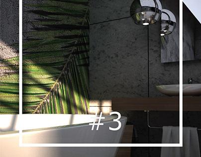 #3 Interior 3D Rendering