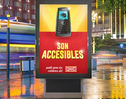 """Campaña para los """"los celulares del Oxxo"""""""
