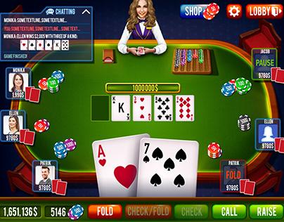 Poker or Blackjack Full Game Set