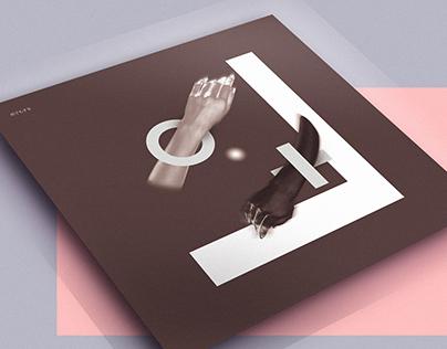"vinyl cover  ""2h -do anything-"""