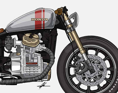Bike Illustrations