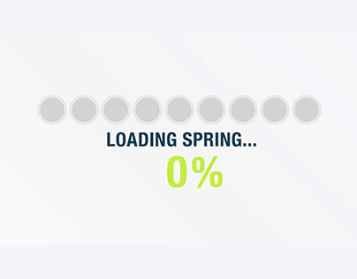 Spring Day - animated GIF emailer header