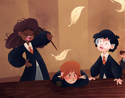 Harry Potter children book - Wingardium Leviosa