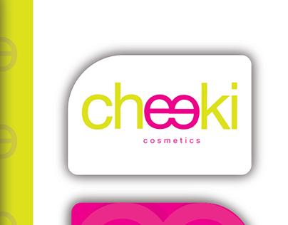 Cheeki Cosmetics Logo & Branding