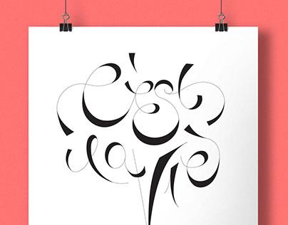C'est La Vie Typeface