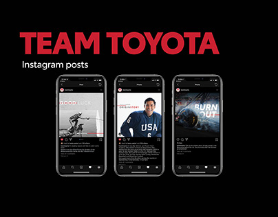 Team Toyota Instagram Posts