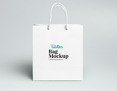 Shpoing Bag Mock Up free