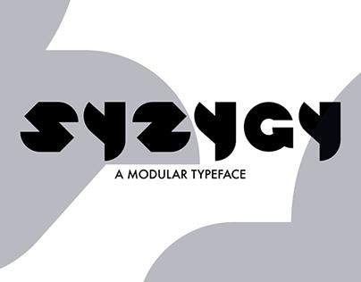 SYZYGY : A Modular Typeface