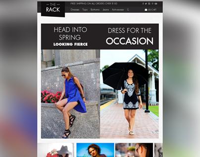 The Rack Shopify Fashion Ecommerce Theme