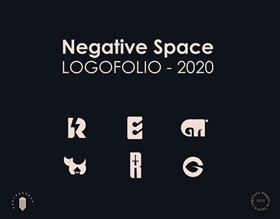 Logofolio 2020 - Negative Space Logo