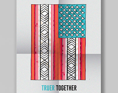 Together // Pro-Immigrant Poster Series