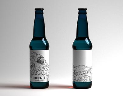 Tridente Beer Label