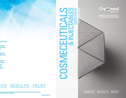 Cryomed Cosmeceuticals 28 page catalogue