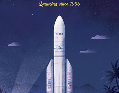Ariane 5 poster