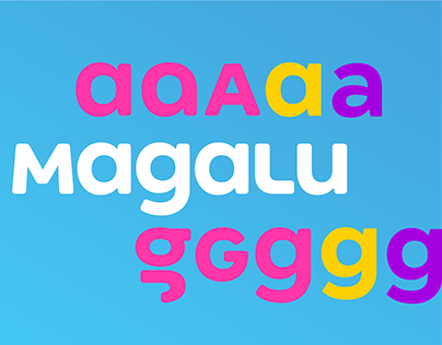 Tipografias Magalu – uma linha completa de fontes