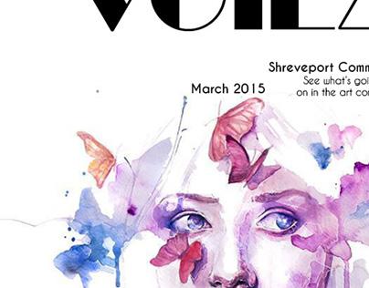 Voila Magazine Cover Series | Addy Award Winner