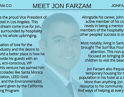 Meet Jon Farzam