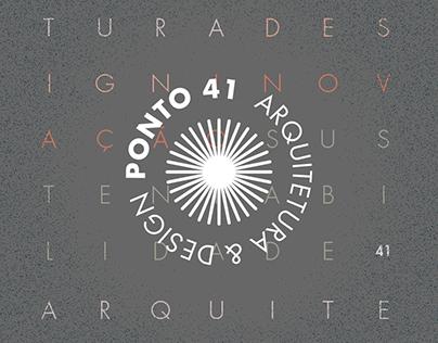Ponto41 - Marca e Identidade Visual