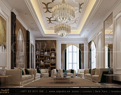 Contemporary Livingroom Design by ALGEDRA