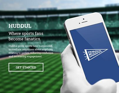 HUDDUL Marketing Site