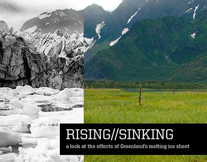 Rising/Sinking: Greenland's Melting Ice Sheet