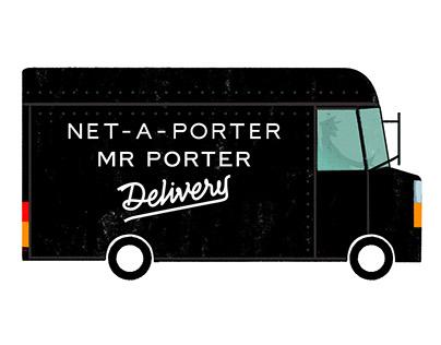 Mr Porter/Net-A-Porter Christmas Campaign