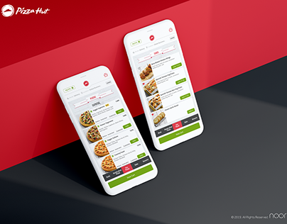 Pizza Hut India - UI UX Design