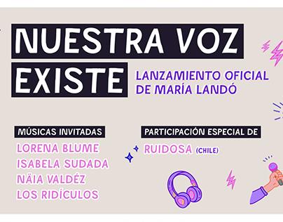 Nuestra Voz Existe - María Landó