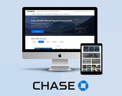 Chase Front Page Redesign