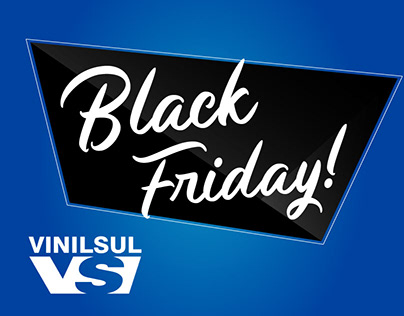 E-mail Marketing de Black Friday VinilSul