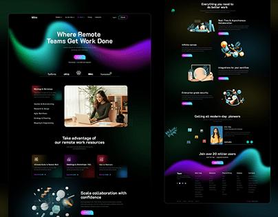 Digital Agency Landing Page Exploration
