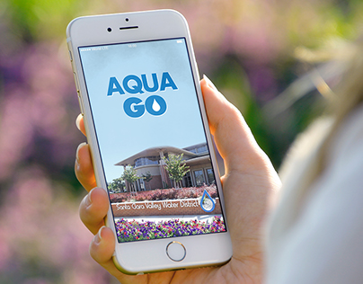 Aqua Go Employee App Icon and Splash Screen