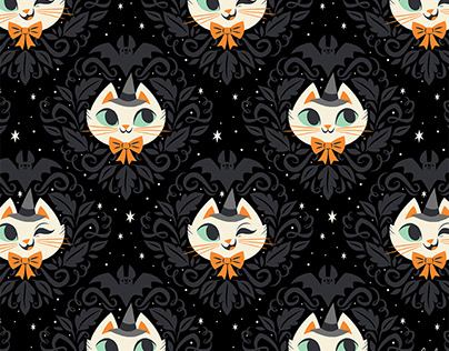 Witchy Kitty Pattern