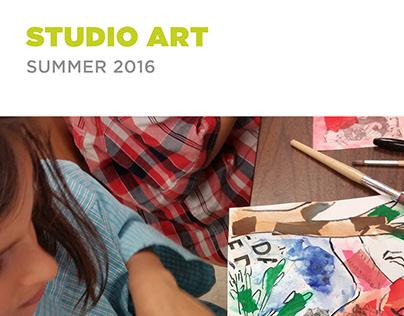 Morris Museum Studio Art Guide - Summer 2016