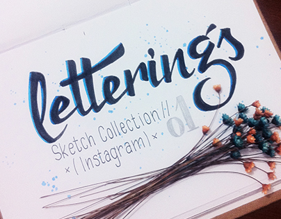 Letterings // Sketch Collection // Instagram 01