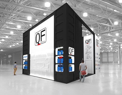 """Маркон"" & ""QF"" exhibition stand"