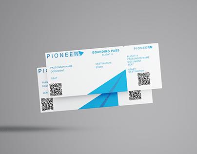 PIONEER - BRAND IDENTITY