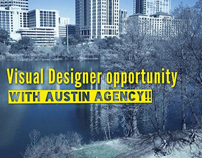 Austin Studio Designer opportunity!