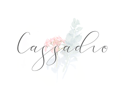 Cassadio callygraphy and steps to make it