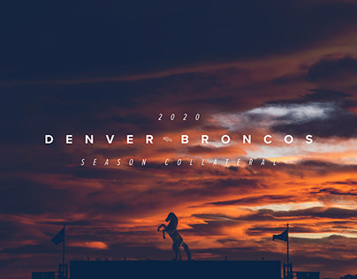 2020 Denver Broncos Season Collateral