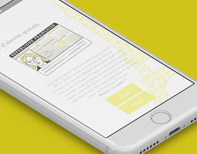 Application la ligne jaune