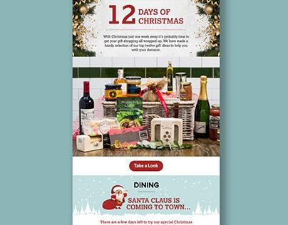 E-mailer Design for Christmas Eve